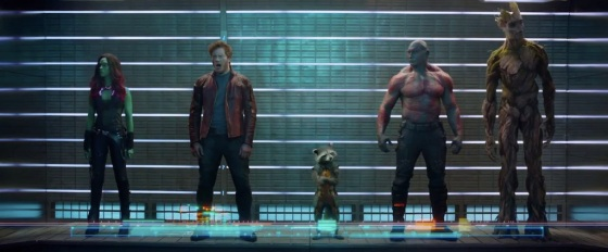 Guardians of the Galaxy Teaser Trailer Nova Corps Lineup