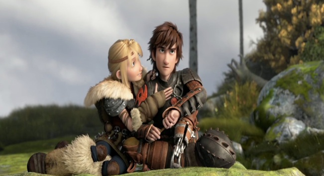 How to Train Your Dragon 2 Movie Trailer Hiccup and Astrid
