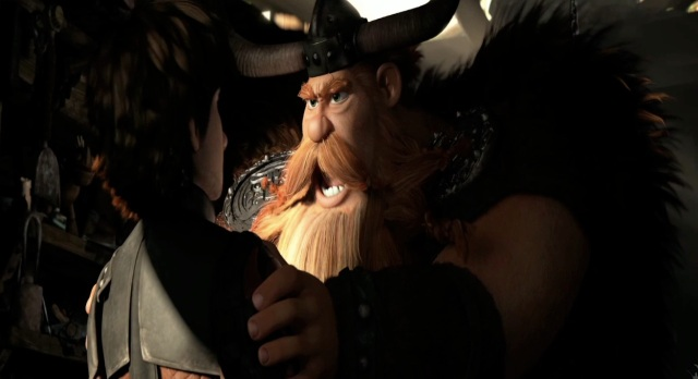 How to Train Your Dragon 2 Movie Trailer Stoick the Vast