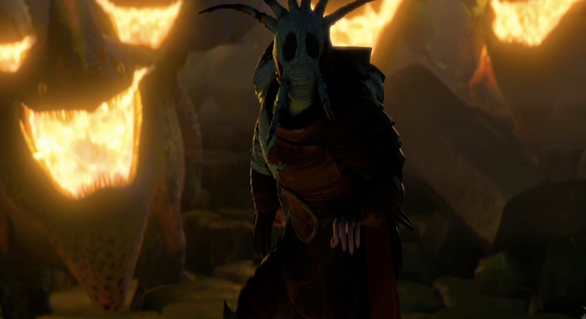 How to Train Your Dragon 2 Movie Trailer Valka Mask