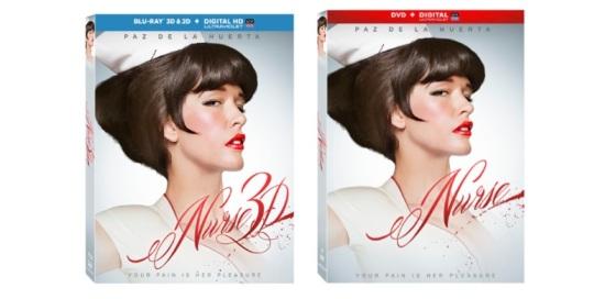 Nurse 3D Blu-Ray and DVD Box Cover Art