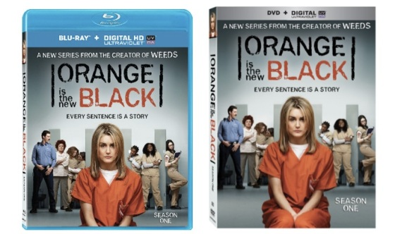 Orange is the New Black Blu Ray and DVD Cover Art