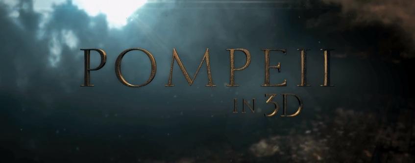 Pompeii Movie 2014 Title Logo