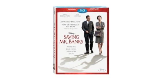 Saving Mr Banks Blu-ray Box Cover Art
