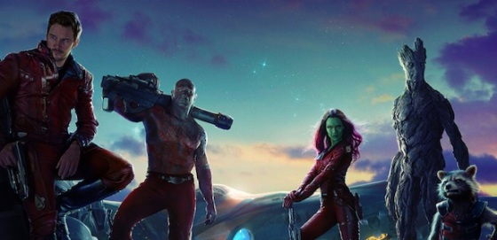 Teaser Poster Guardians of the Galaxy