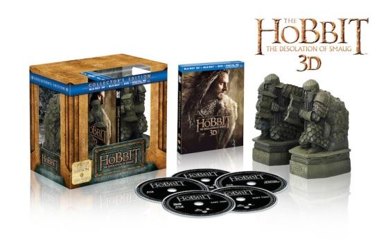 The Hobbit The Desolation of Smaug Collector's Edition Blu Ray Set