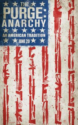 The Purge 2 Anarchy Teaser Poster