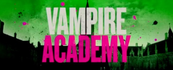 Vampire Academy Title Movie Logo