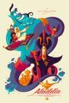 Aladdin by Tom Whalen Mondo SXSW 2014