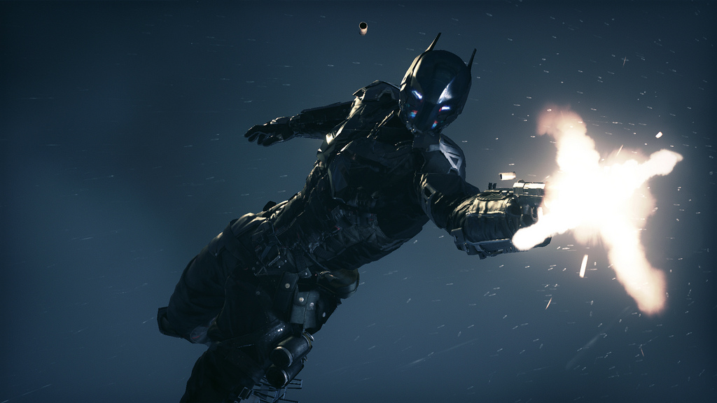 Batman Arkham Knight Still Gun Weapons Armored