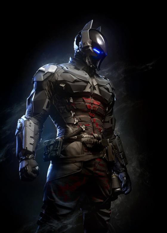 Batman Arkham Knight Still Main Villain Armored Costume