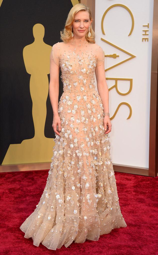 Cate Blanchett 2014 Oscars Best Dressed