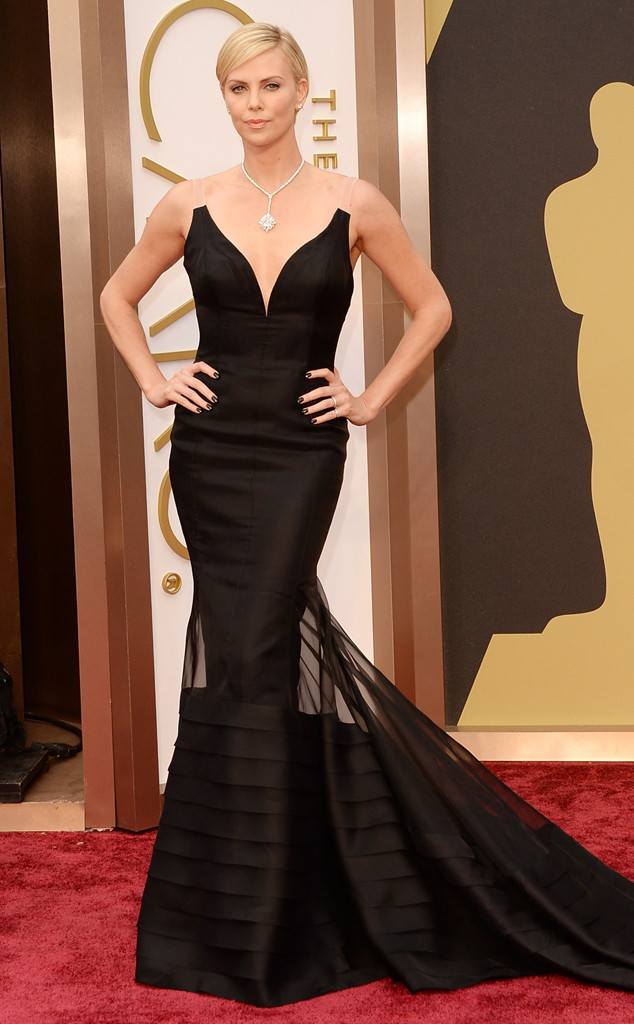 Charlize Theron 2014 Oscars Best Dressed