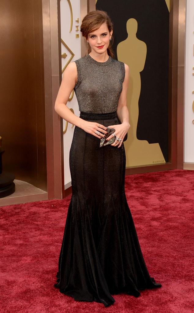 Emma Watson 2014 Oscars Best Dressed