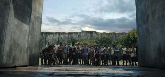 First Official Trailer for 'The Maze Runner'