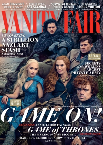 Game of Thrones Vanity Fair Cover 2014