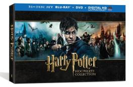 Harry Potter Hogwarts Collection Box Cover Art