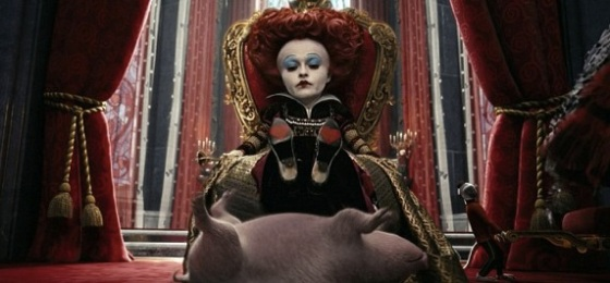 Helena Bonham Carter Returns as the Red Queen for 'Through the Looking Glass'