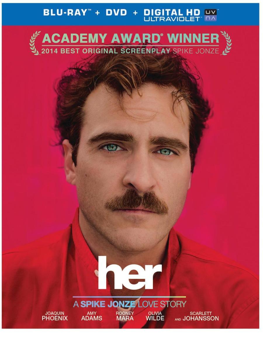 Her Movie 2014 Blu-Ray Box Cover Art