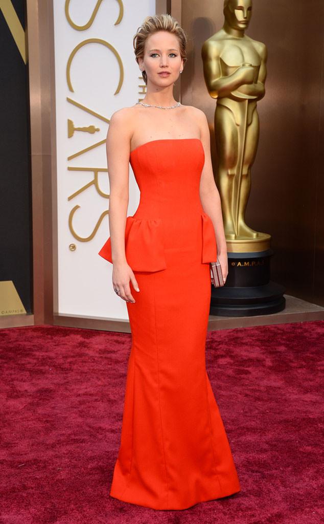 Jennifer Lawrence 2014 Oscars Best Dressed