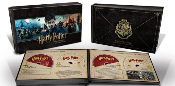Massive 31-Disc Harry Potter Blu-Ray Hogwarts Collection Releases on April 29