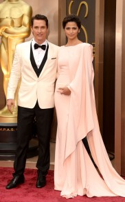 Matthew McConaughey 2014 Oscars Best Dressed