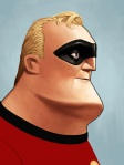 Mr. Incredible by Mike Mitchell Mondo SXSW 2014