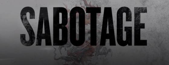 Sabotage 2014 Title Movie Logo