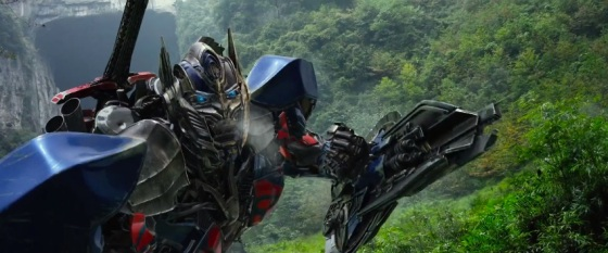 Second 'Transformers Age of Extinction' Trailer Has Optimus Prime Vs. Grimlock