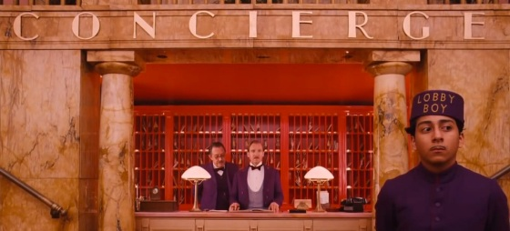 The Grand Budapest Hotel Concierge