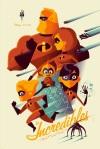 The Incredibles by Tom Whalen Mondo SXSW 2014