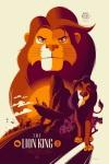 The Lion King by Tom Whalen Mondo SXSW 2014