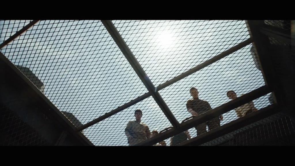 The Maze Runner Trailer Still Elevator Door