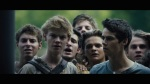 The Maze Runner Trailer Still Thomas and Newt