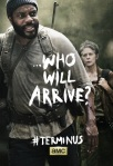 The Walking Dead Season 4 Finale Posters Tyrese and Carol