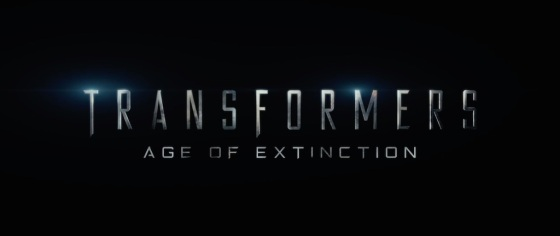 Transformers 4 Age of Extinction Movie Title Logo 2014