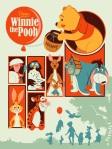 Winnie the Pooh by Dave Perillo Mondo SXSW 2014