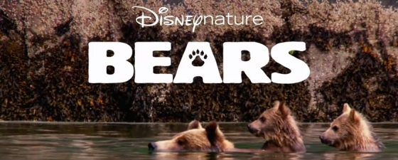 Bears DisneyNature Title Movie Logo 2014