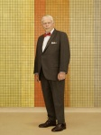 Bertram Cooper Mad Men Season 7 Character Portrait