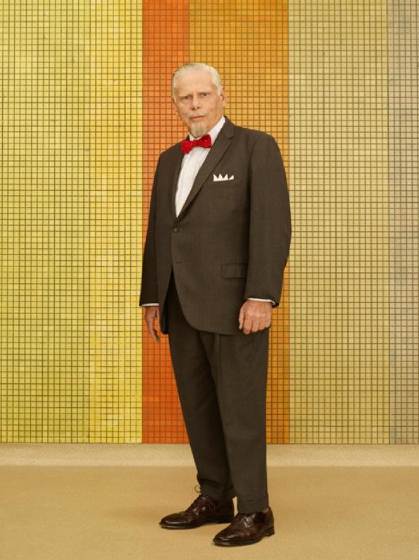 Bertram Cooper Mad Men Season 7 Character Portrait