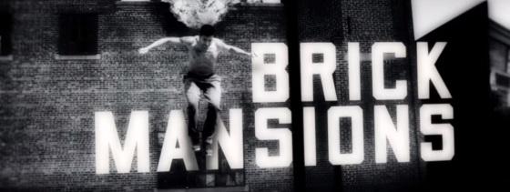 Brick Mansions Title Movie Logo