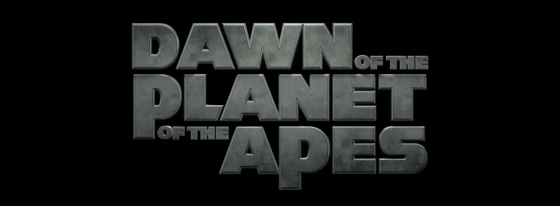 Dawn of the Planet of the Apes Title Movie Logo