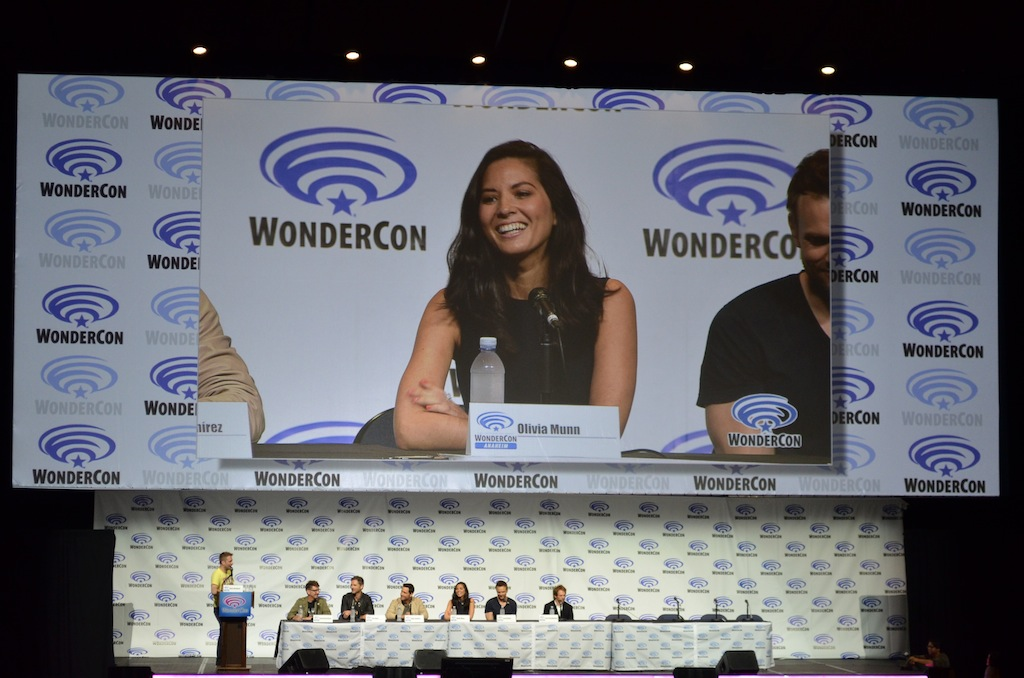 Deliver Us From Evil WonderCon Panel Olivia Munn