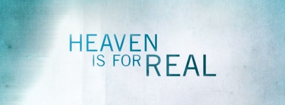 Heaven is for Real Title Movie Logo