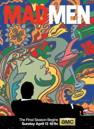 Mad Men Season 7 AMC Poster Milton Glaser