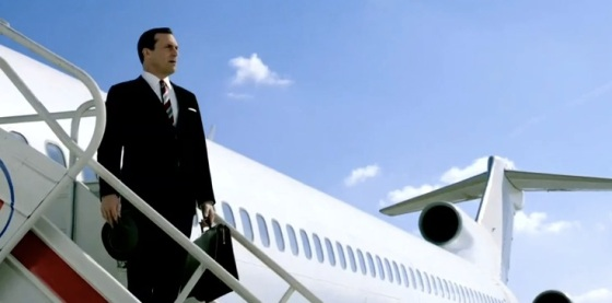 Mad Men Season 7 Takes Off Teaser Trailers