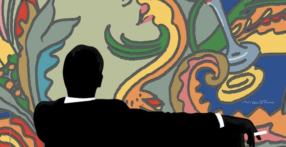 Milton Glaser Designs Poster for 'Mad Men' Season 7