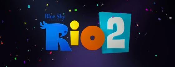 Rio 2 Title Movie Logo