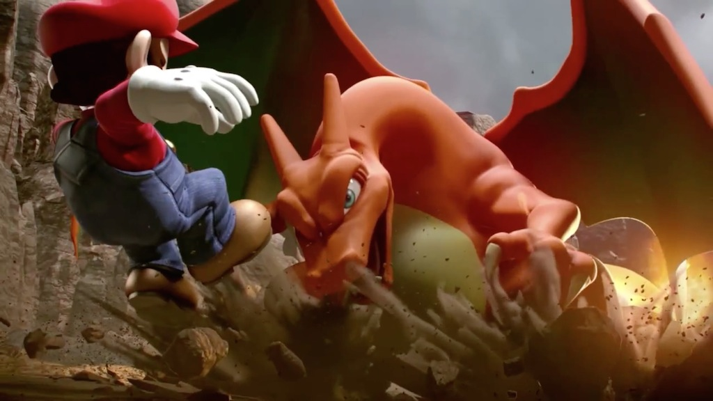 Super Smash Bros. 2014 Wii U Charizard Smash