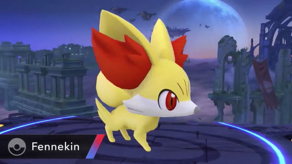 Super Smash Bros. 2014 Wii U Fennekin Pokemon